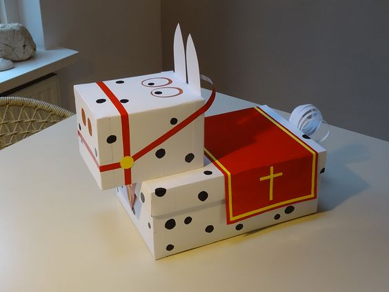 Een surprise van Sinterklaas tijdens Pakjesavond
